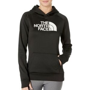 The North Face black and white hoodie